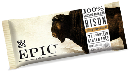 Epic Provision Bison Bacon Bar, General Mills