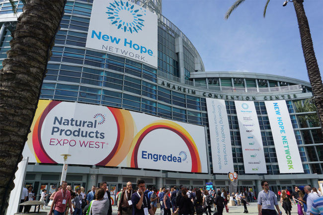 Natural Products Expo West convention center