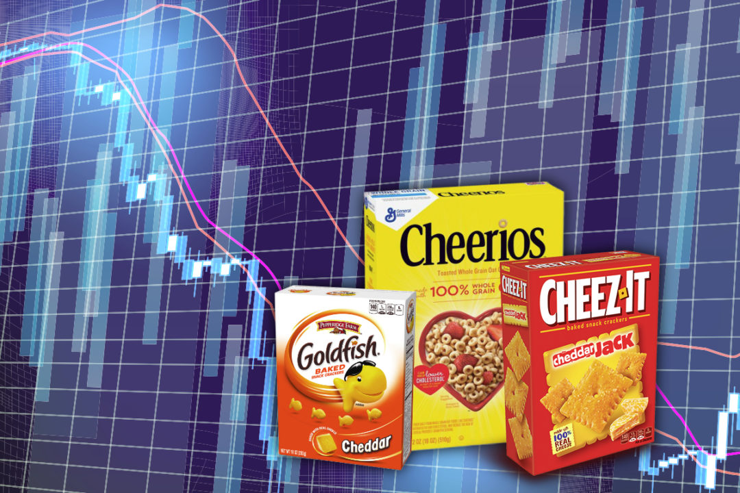 Grain-based foods shares declining