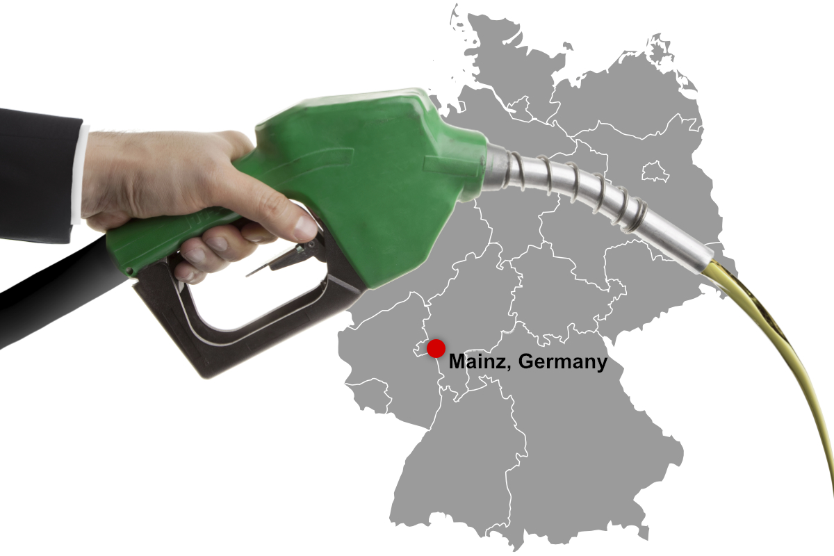 Biodiesel in Mainz, Germany