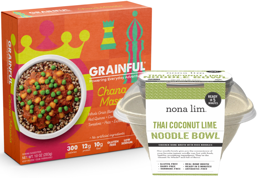 Grainful and Nona Lim bowls