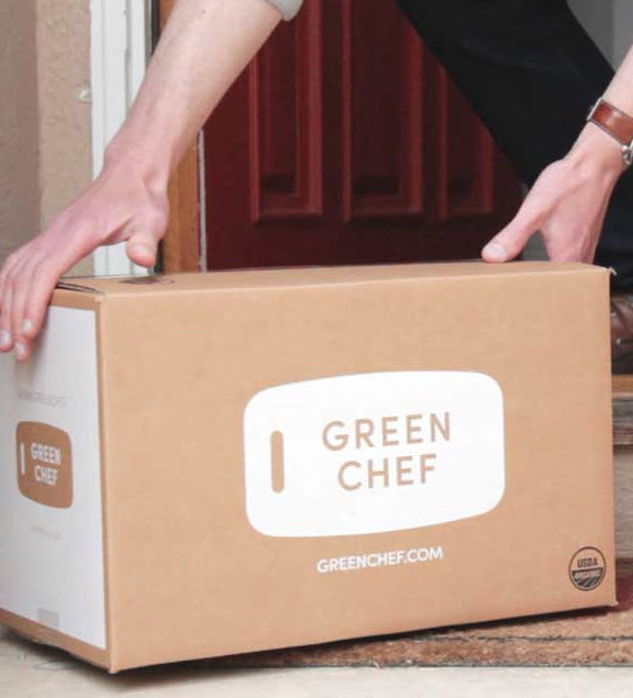 Green Chef meal kit box delivery