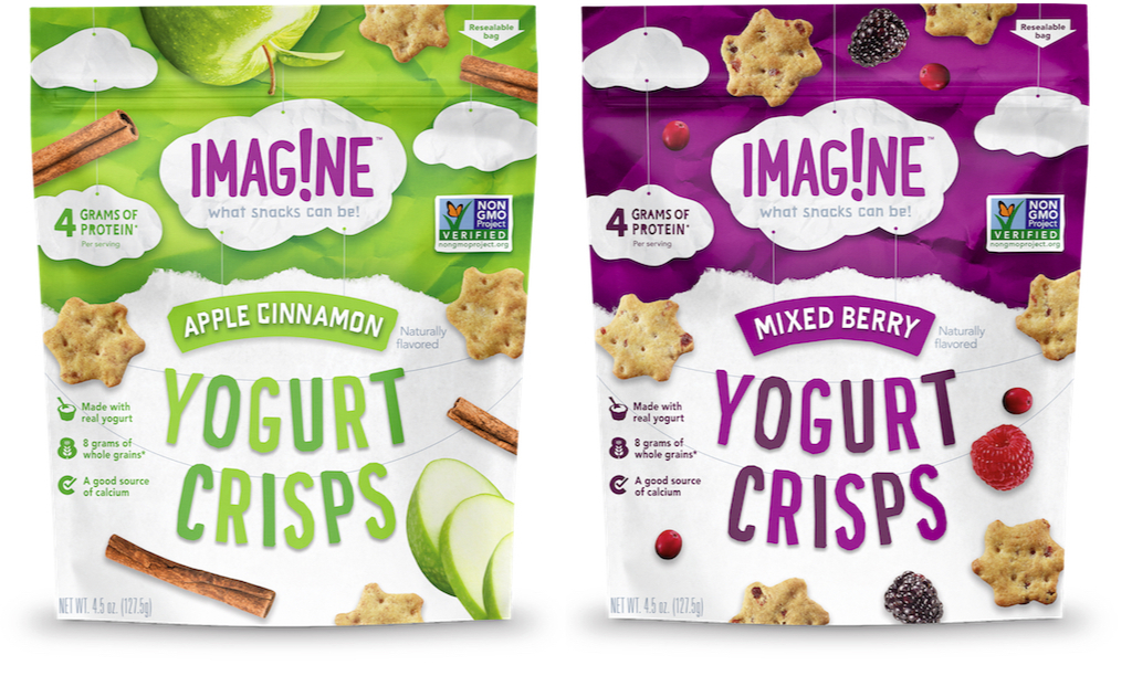 Imagine Yogurt Crisps, PepsiCo