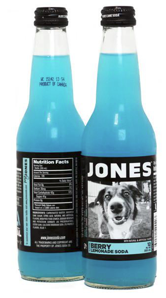 Jones Soda Blue Lemonade