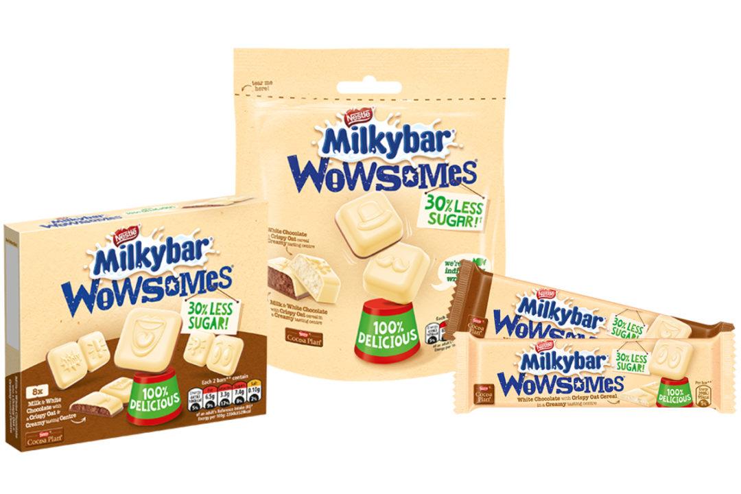 Milkybar Wowsomes, Nestle