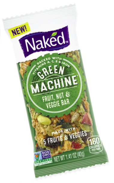 Naked Green Machine bar, PepsiCo