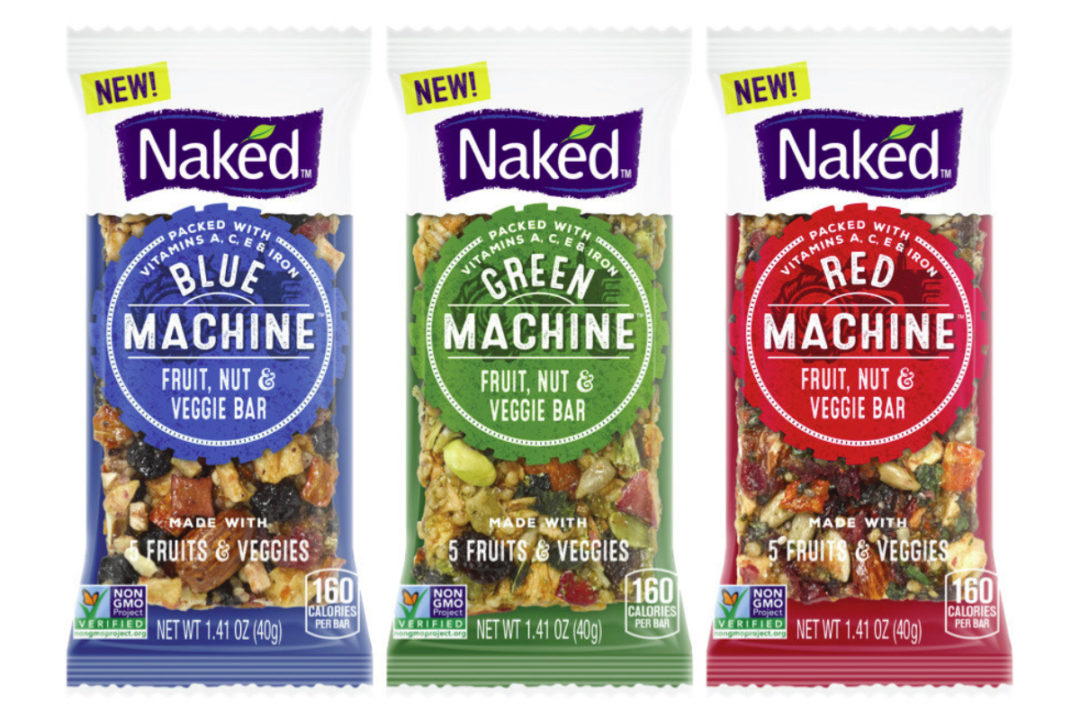 Naked bars, PepsiCo
