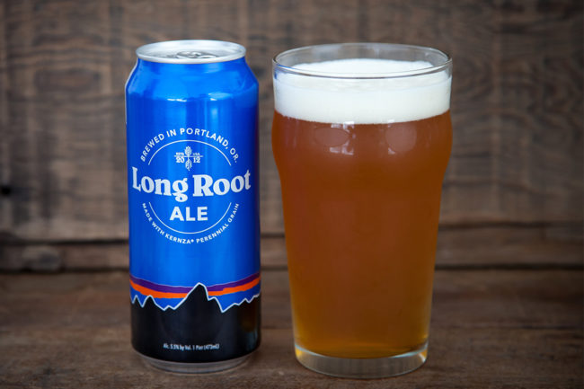 Patagonia Provisions beer made with Kernza perennial grain