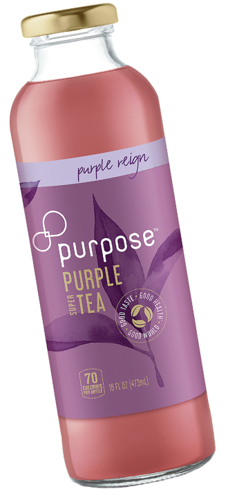 Purpose Tea purple tea