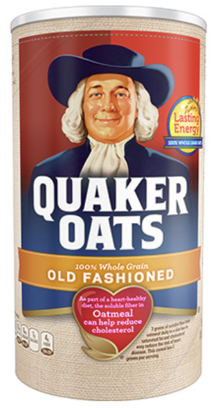 Quaker old-fashioned oats, PepsiCo