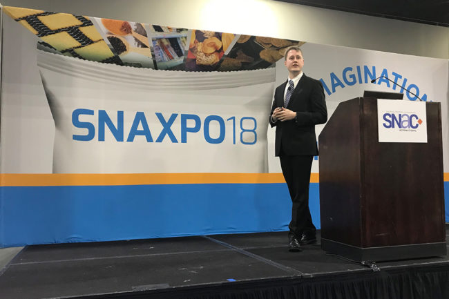 Jared Koerten, Euromonitor at SNAXPO