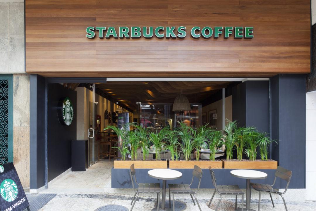 Starbucks Brazil restaurant