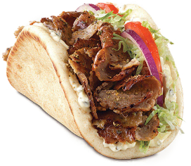 Arby's Greek gyro
