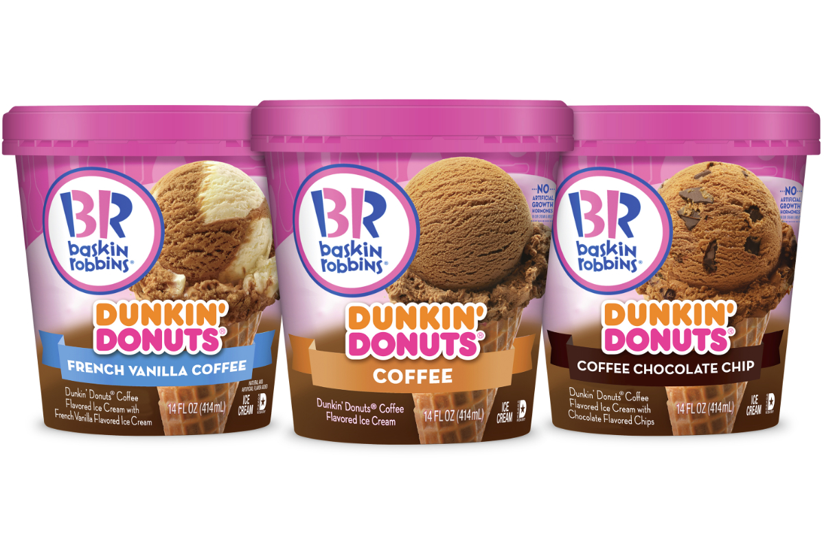 Baskin-Robbins Dunkin Donuts coffee ice cream