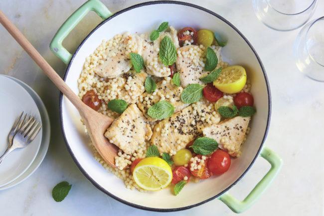 Chef'd lemon pepper turkey bowl