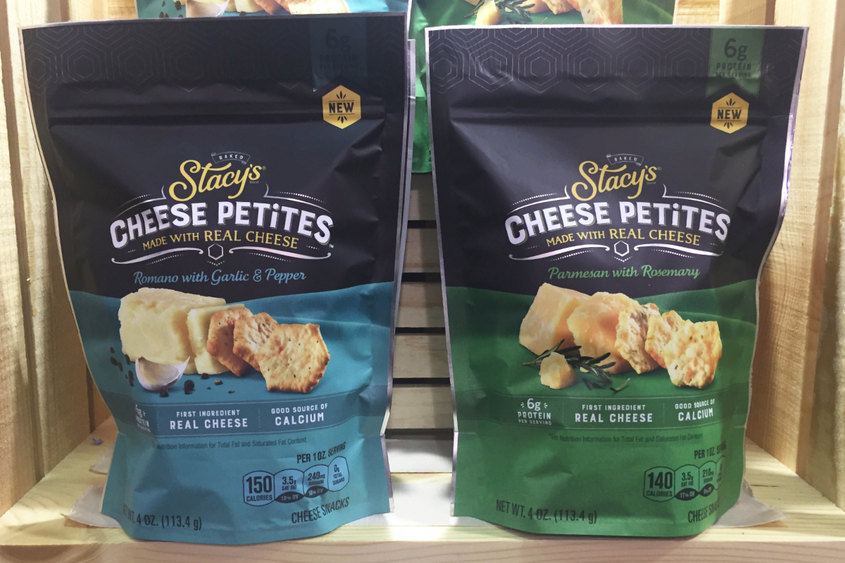 PepsiCo's Frito Lay's Stacy's Cheese Petites