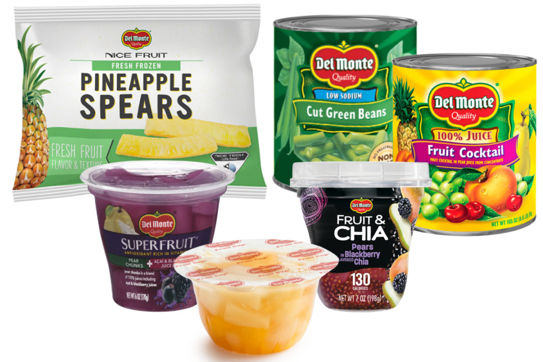 Del Monte food service products