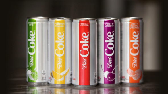 Flavored Diet Coke