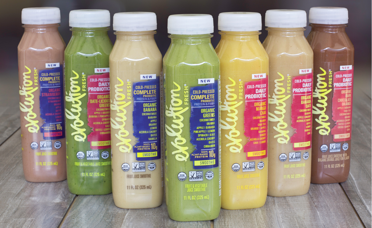 Evolution Fresh cold pressed juices