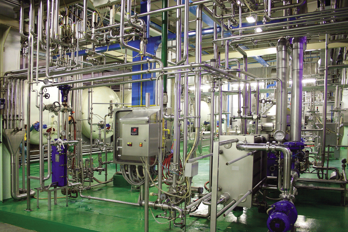 Food safety in manufacturing facility
