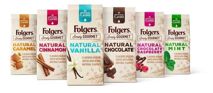 Folgers Natural coffee