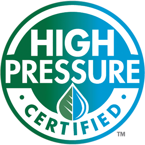 High pressure certified seal