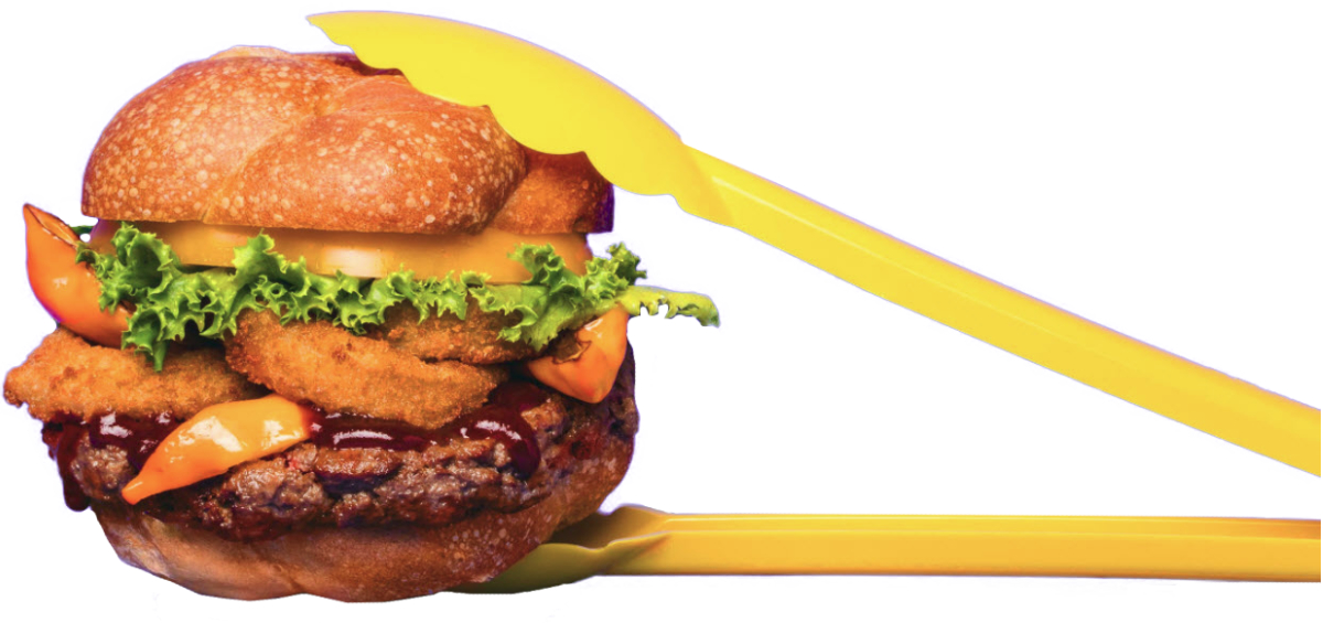 Impossible Burger tongs