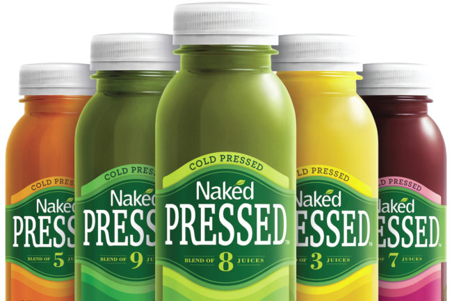 Naked cold pressed juices