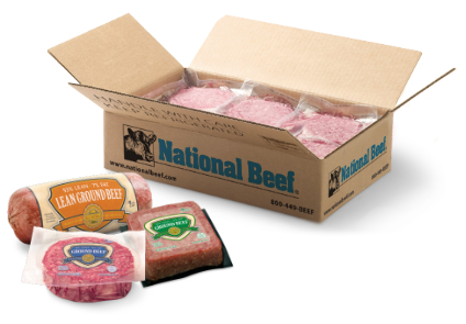 National Beef box
