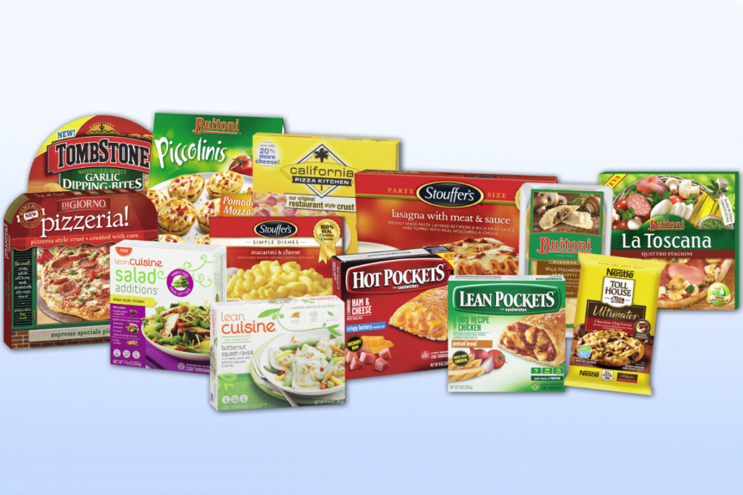 Nestle frozen and chilled products