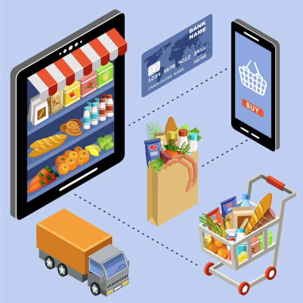 Online grocery supply chain