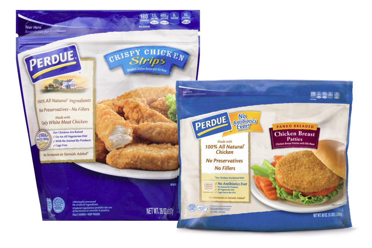 Perdue Farms fully cooked frozen chicken