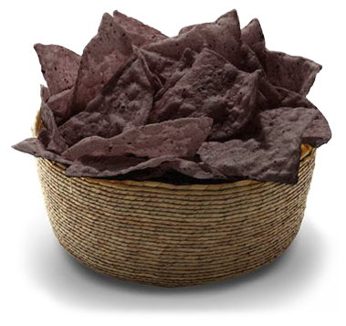 Purple corn chips