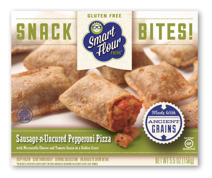 Smart Flour Foods ancient grains snack bites