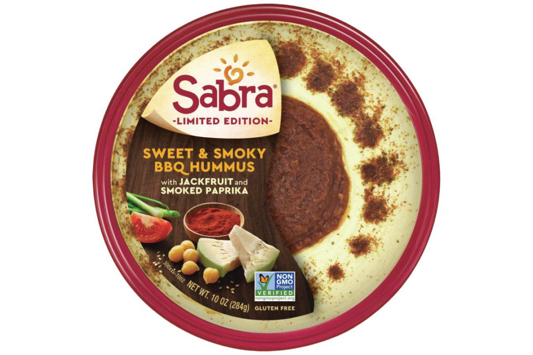 Sabra Sweet & Smoky BBQ Hummus with Jackfruit and Smoked Paprika