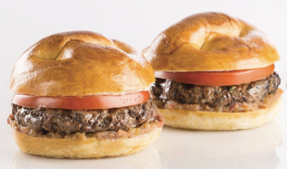 Sodexo mushroom and beef sliders