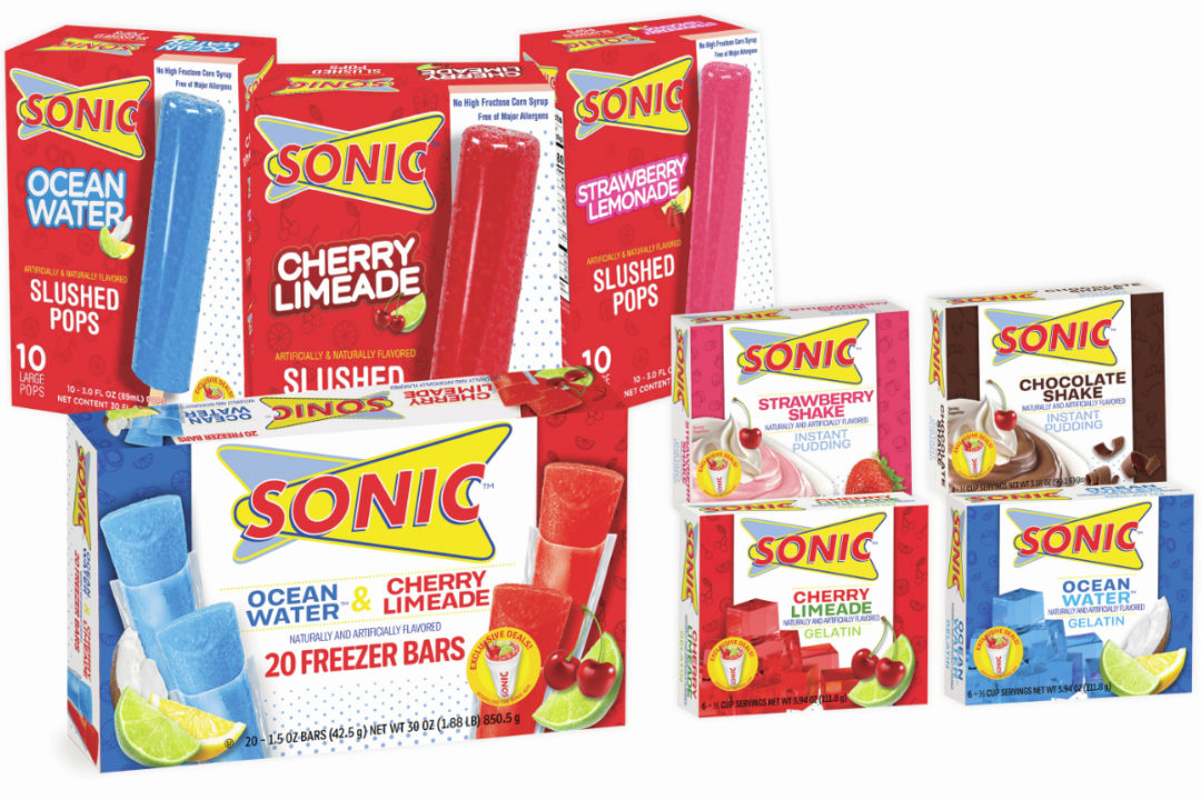 Sonic retail items