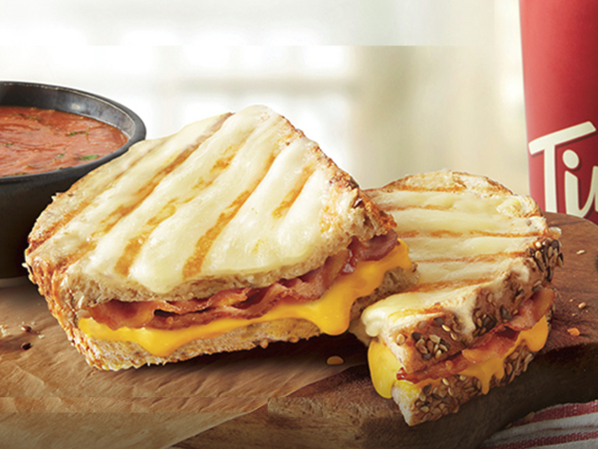 Tim Horton's Artisan Style Bacon Grilled Cheese