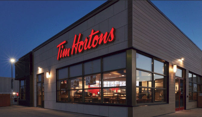 Tim Horton's Welcome Image