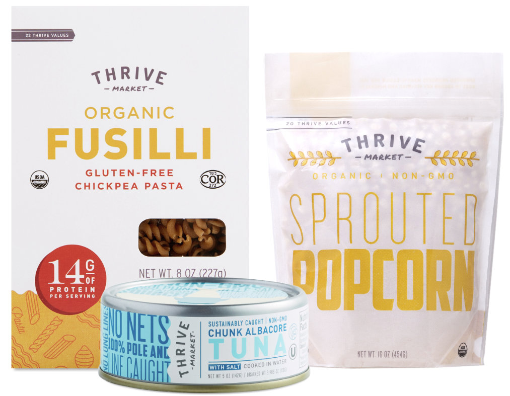 Thrive Market private label products
