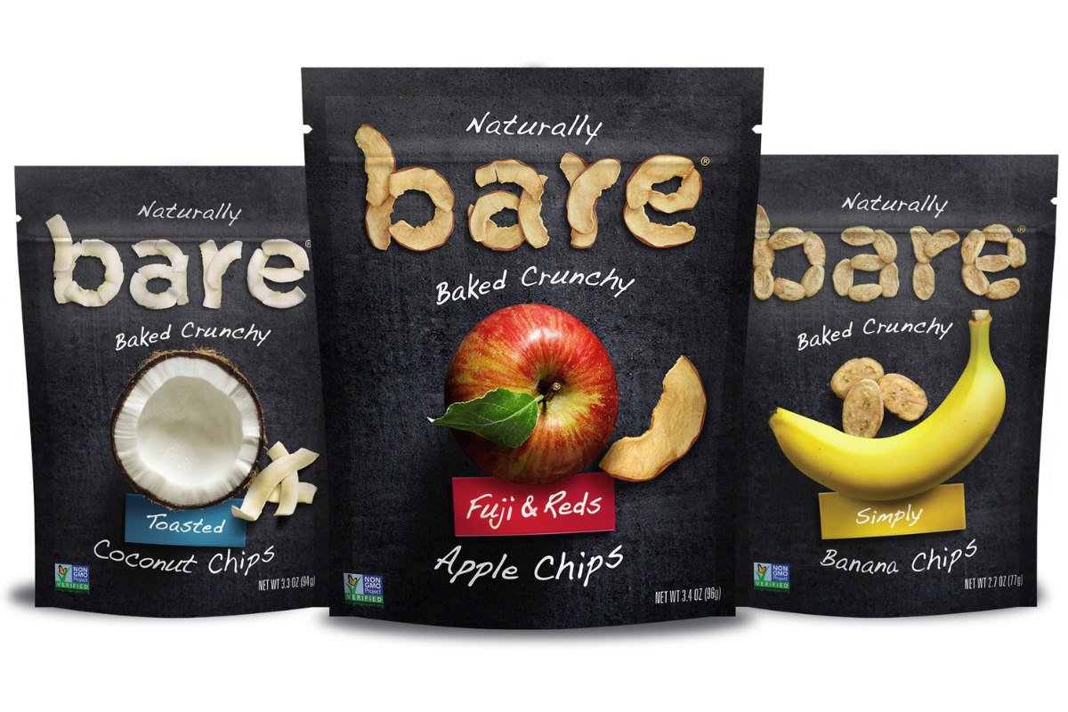 Bare Snacks products, PepsiCo