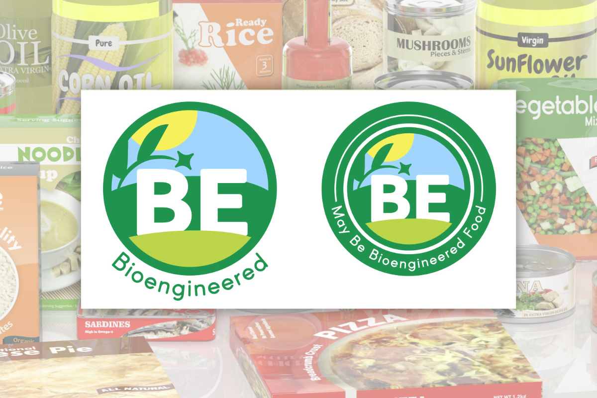 Bioengineered food labels