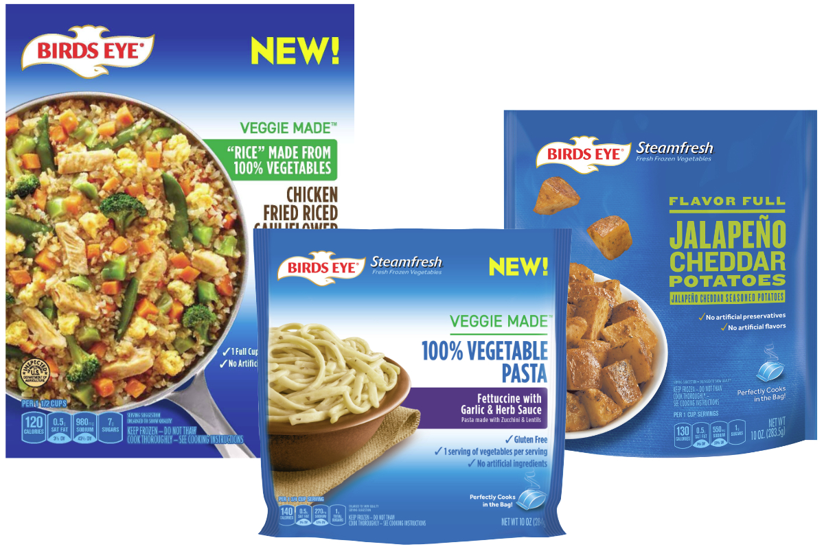 Birds Eye Veggie Made frozen vegetables
