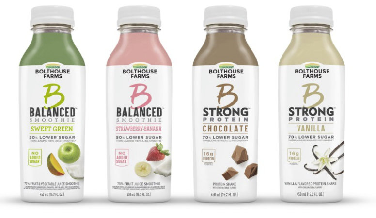 Bolthouse Farms B Strong and B Balanced beverages