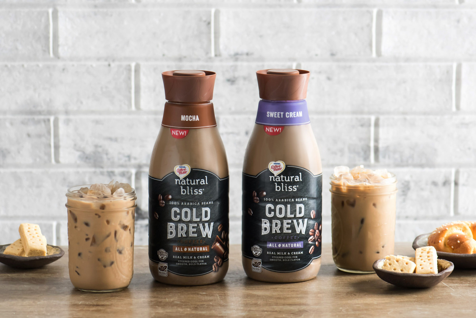Nestle Coffee-Mate natural bliss cold brew coffee