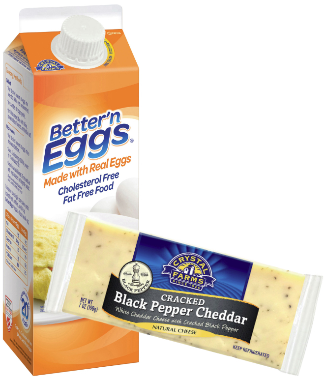 Michael Foods Crystal Farms egg and cheese products, Post Holdings