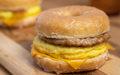 Tim Hortons Honey Dip Donut Breakfast Sandwich