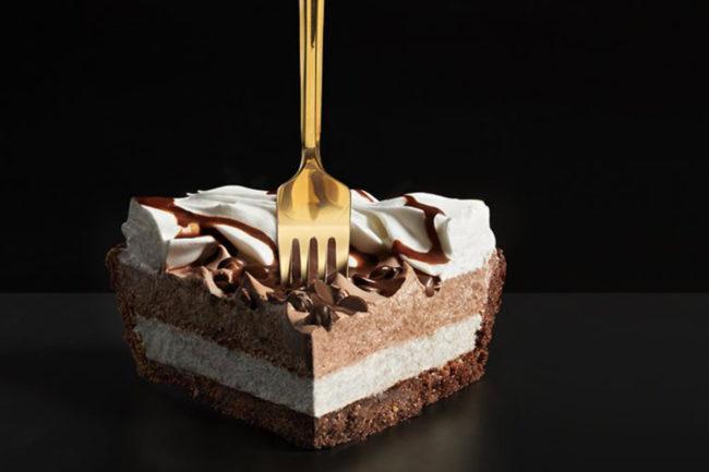 Edward's pie slice, Schwan