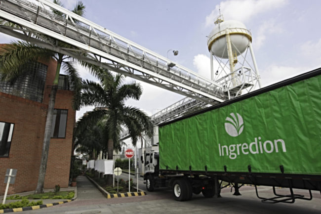 Ingredion truck