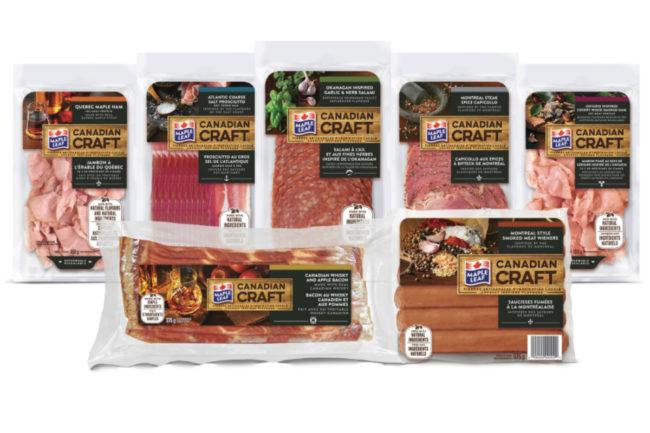 Maple Leaf Foods Canadian Craft line